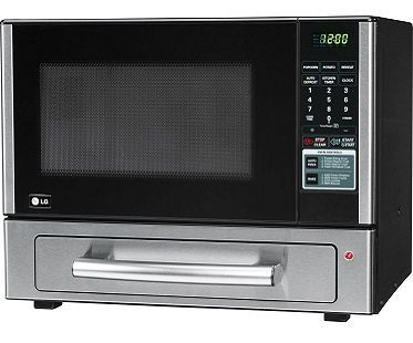 microwave and baking oven