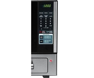microwave and baking oven controls