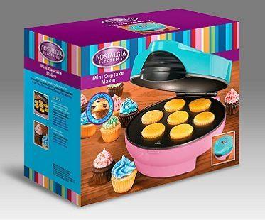 mini cupcake maker packaging