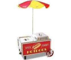 mini hot dog steamer cart