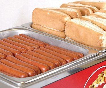 mini hot dog steamer cart food