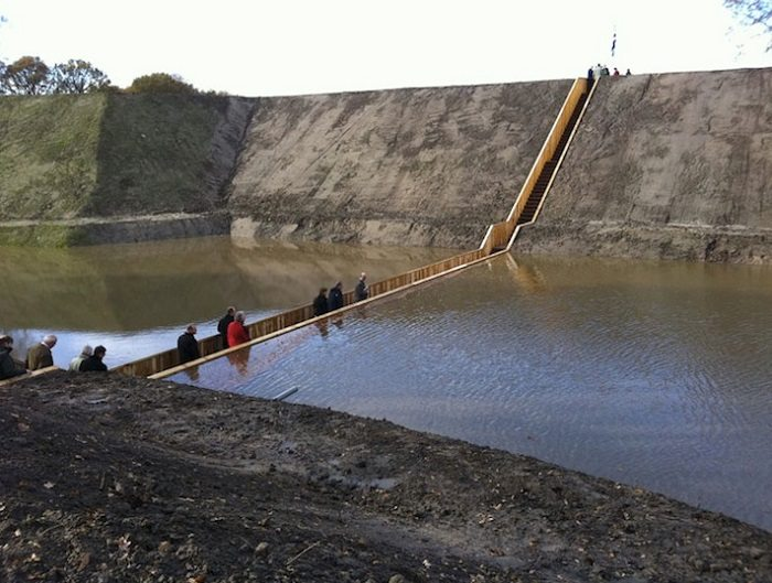 moses bridge crossing