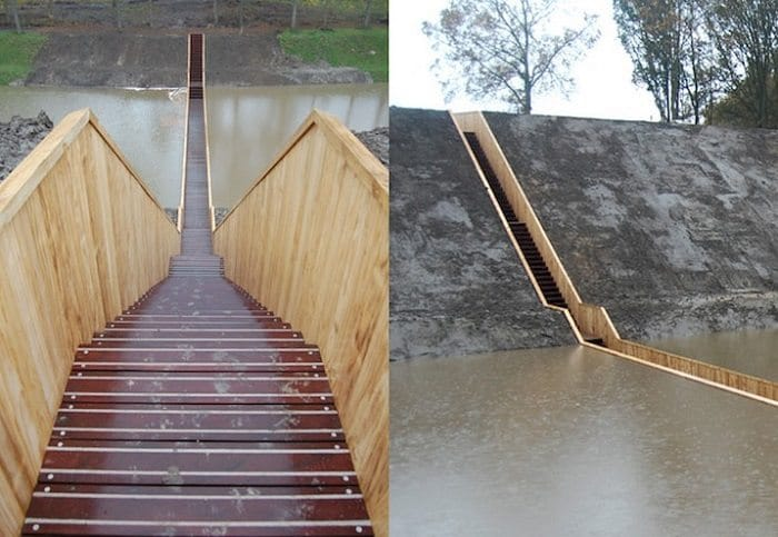 moses bridge steps