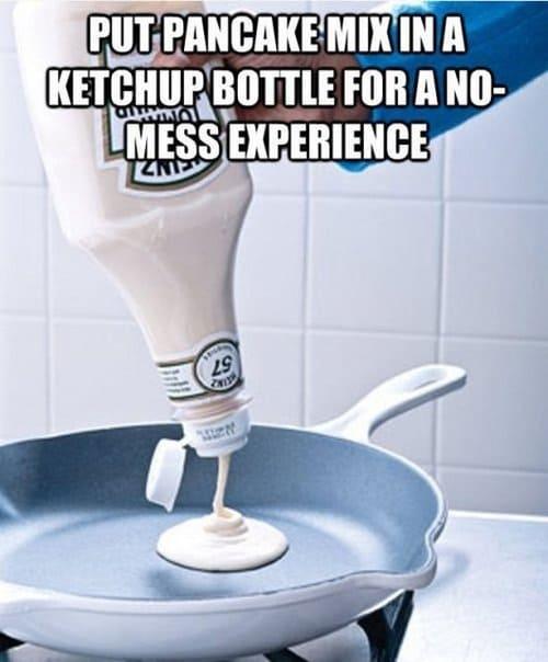 pancake mix tip