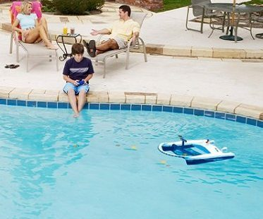 remote control pool skimmer boy