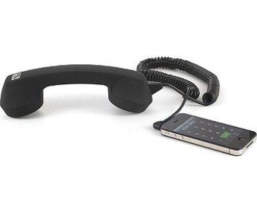 retro telephone handset