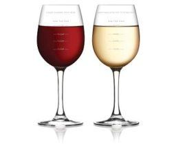 sauce measuring wine glass