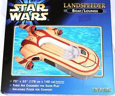 star wars inflatable landspeeder box