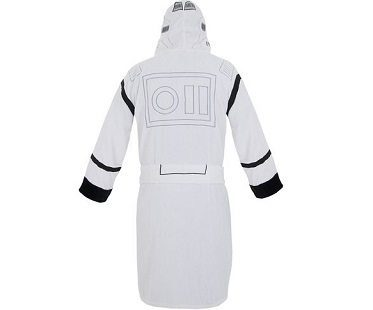 star wars stormtrooper bathrobe back