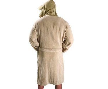 star wars yoda bathrobe back