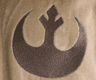 star wars yoda bathrobe logo