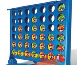 super mario connect four