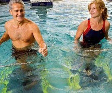 swimming pool treadmill