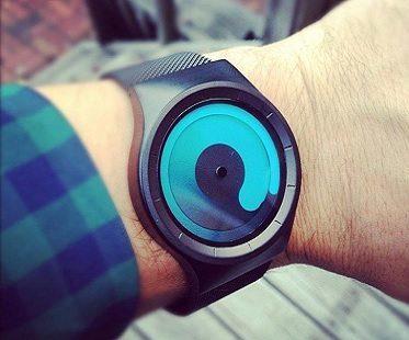 swirling watch