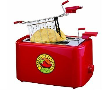 taco shell toaster plain