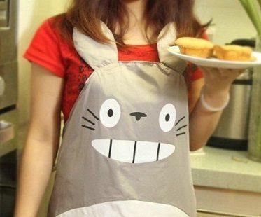 totoro apron