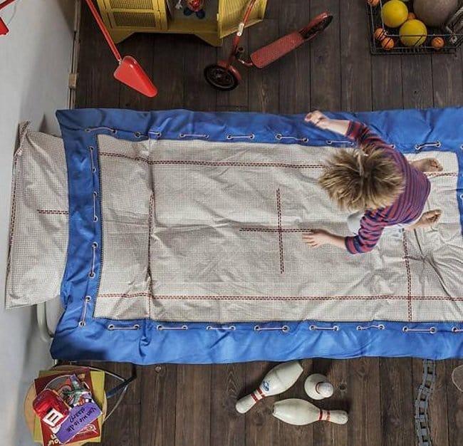 trampoline bedding
