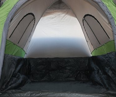 truck tent inside