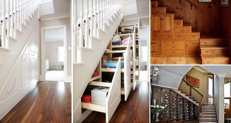 creative under stairs storage ideas that make sense. Black Bedroom Furniture Sets. Home Design Ideas