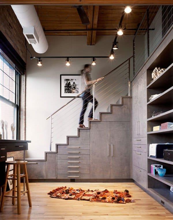 understairs-storage-14 & Creative under stairs storage ideas that make sense