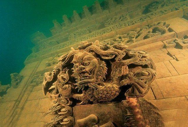 underwater city dragon