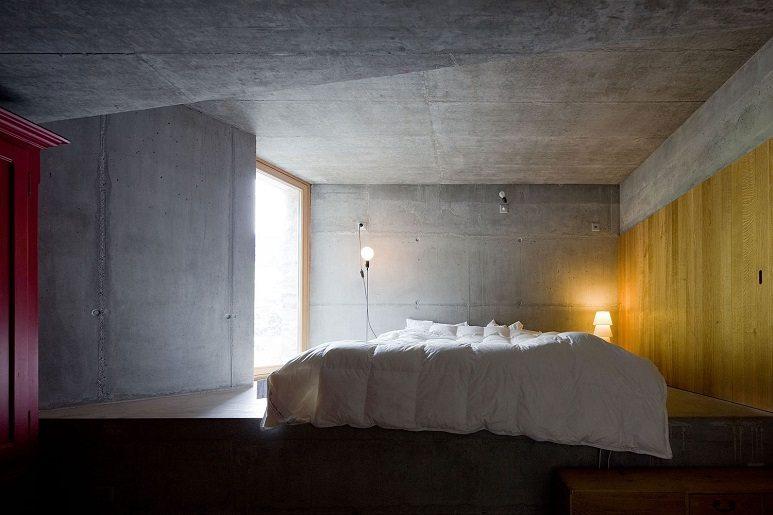 villa vals bedroom
