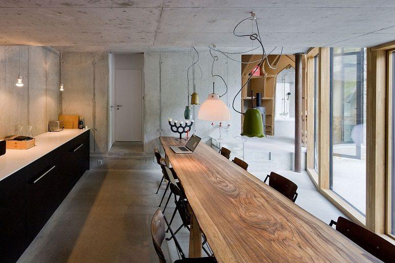 villa vals dining room