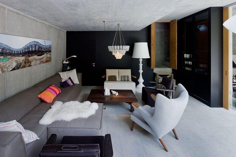 villa vals living room