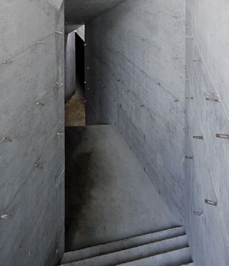 villa vals tunnel