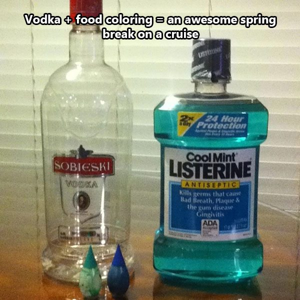 vodka hack