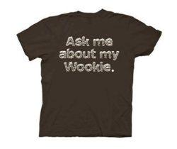 wookie flip up shirt