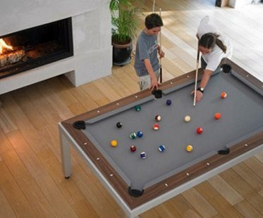 2-in-1 pool and dining table