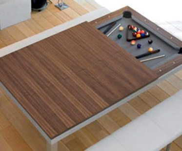 2-in-1 pool and dining table closing