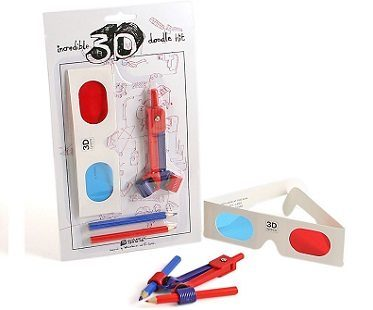 3-D Doodle Drawing Kit pack