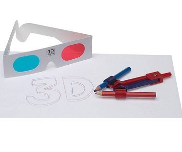 3-D Doodle Drawing Kit plain