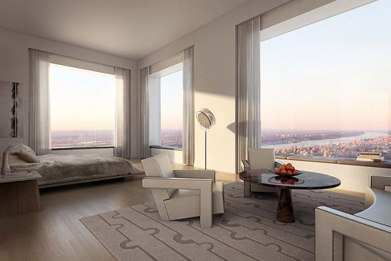 432 park avenue  bedroom