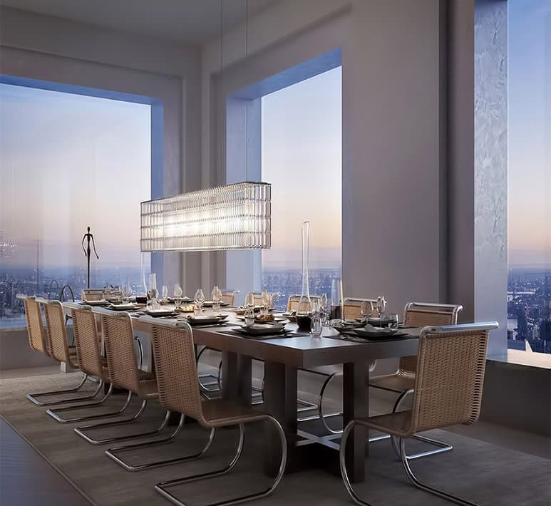 432 park avenue dining room