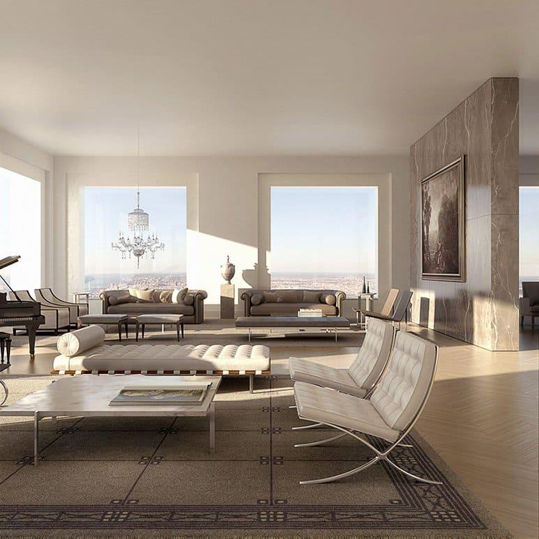 432 park avenue living room 3