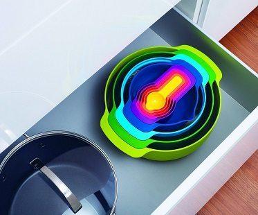 9 Piece Nesting Bowls drawer
