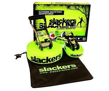 Backyard Slackline Kit contents