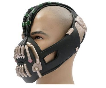 Bane Voice Changing Mask side view