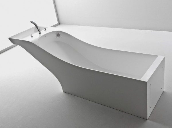 Bathtub and Washbasin Fusion