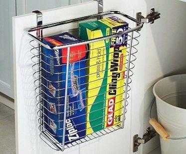 Cabinet Door Waste Basket kitchen