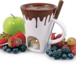 Chocolate Fondue Mug Set