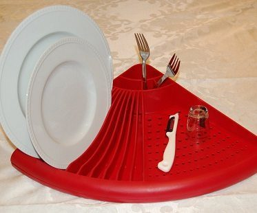 Corner Dish Rack dryer