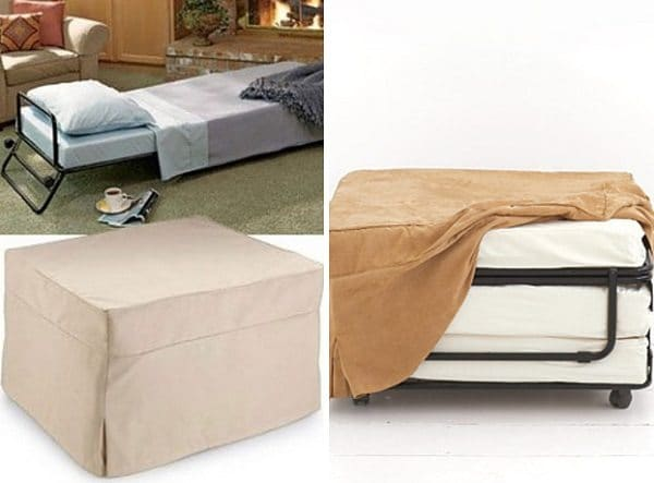 Folding Ottoman BeD