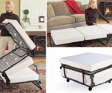 Folding Ottoman Bed seat