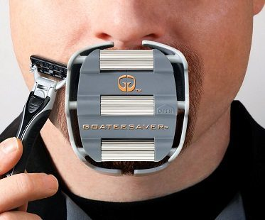 Goatee Shaving Template