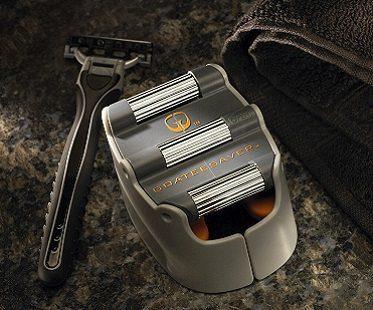Goatee Shaving Template razor