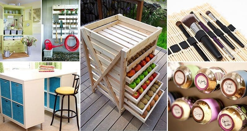 16 Useful Organizing Ideas For Your Home Part 1